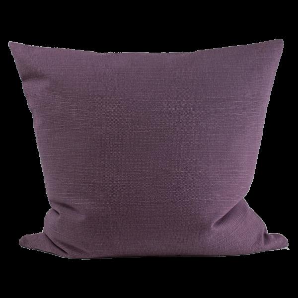 Kissen Grob violett