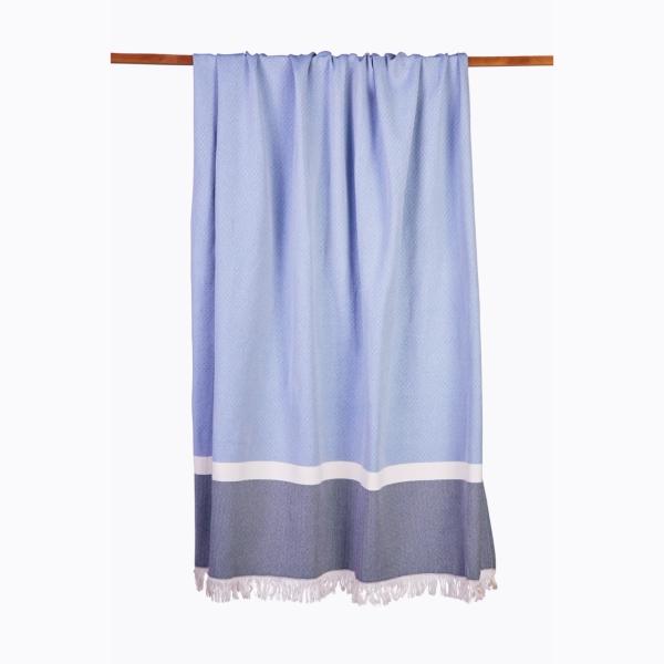 Sommertuch Blau 130x170