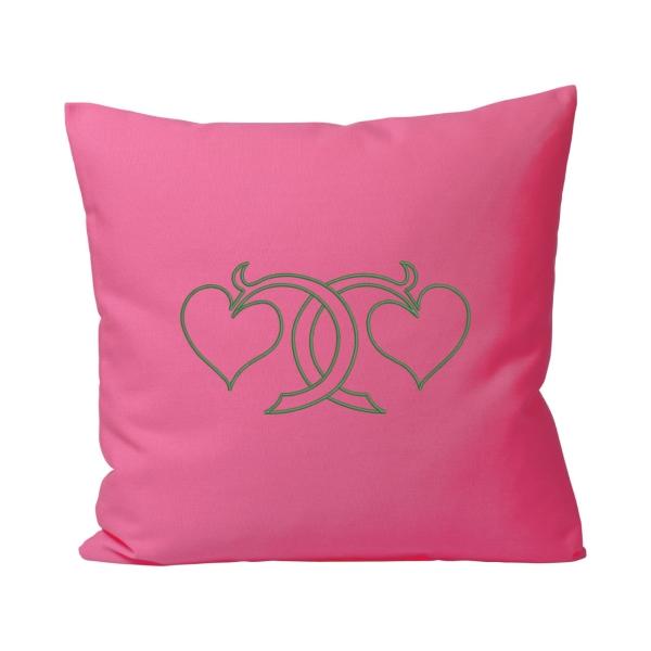 Motivkissen Outdoor pink