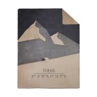 "Decke ""Koordinaten"" Local Tirol"