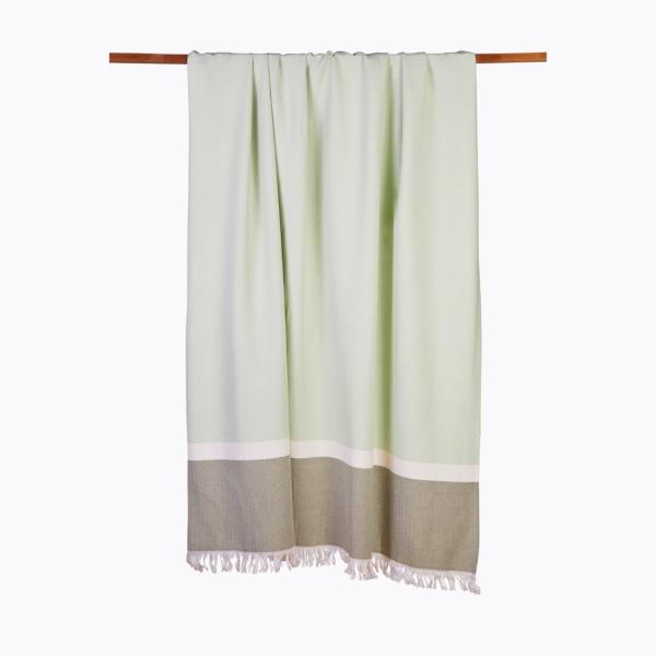 Sommertuch Grün 130x170