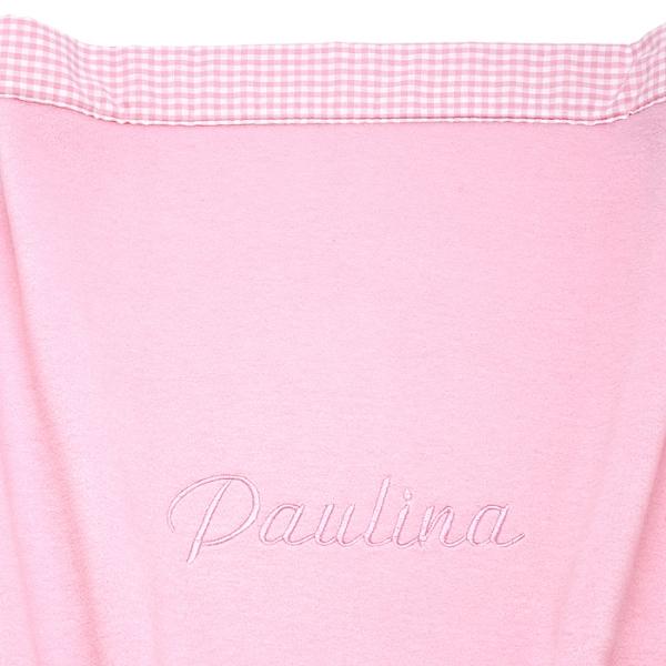 Kuscheldecke Fleece rosa